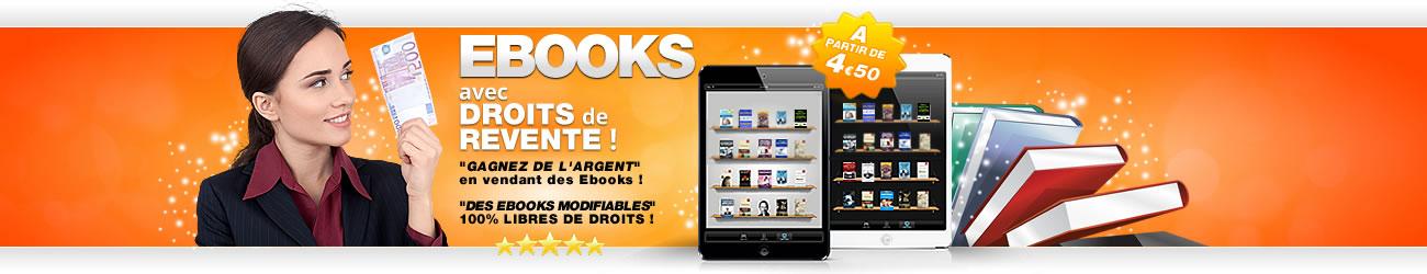 boutique Ebooks avec droits de label privé