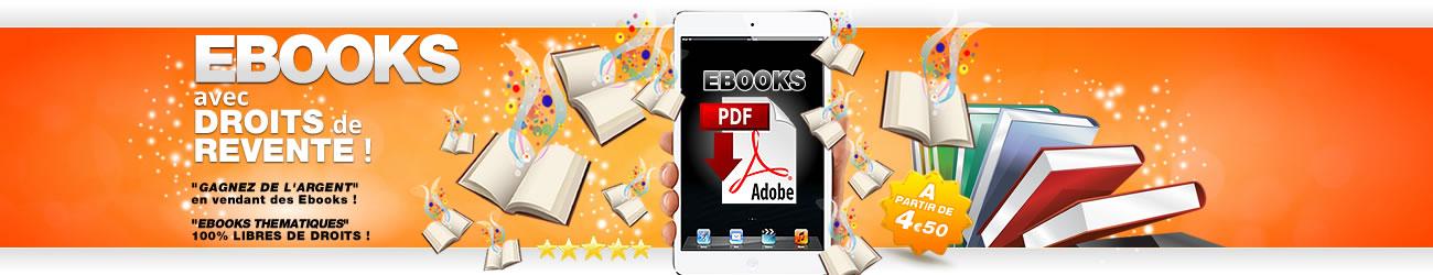 boutique Ebooks avec droits de revente